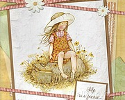 Holly Hobbie Illustrations of Lovely Girls14 pics